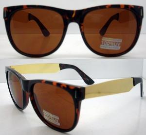 Quality 400UV Big Lens Classical Plastic Frame Sunglasses For Men wholesale