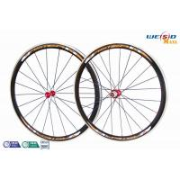 """Quality Road Bike 700c 38mm Aluminum Bicycle Wheels AA6063 T5 Customized Size 12"""" to 22"""" wholesale"""