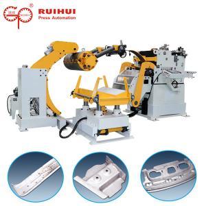 China Automation Nc Servo Decoiler Straightener Feeder Uncoiler Hydrauilc on sale