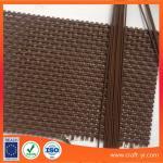 Quality Brown color wholesale Textilene fabrics 2X2 woven style High Strength fabrics wholesale