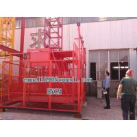 Quality SS100/100 Mini Materials Hoister 2*1000KG Load Two Cages Chain Elevator wholesale