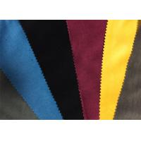Quality Colored Military Garment / Home Textile Velveteen Fabric Cloth wholesale