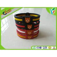 Quality Promotion Gifts Silicone Balance Bracelet Double Color M Medal wholesale