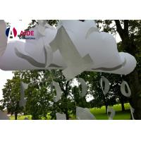 Quality Outdoor Customized Inflatable Party Decoration PVC Cloud Balloons With LED Light wholesale