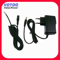 Quality Male / Female Dc Cable Ac Dc Power Adapter 12volt 500ma wholesale