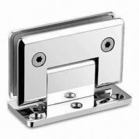 Quality Glass Door Hinge with 50kg Rated Loading Capacity, Made of Zinc-alloy wholesale