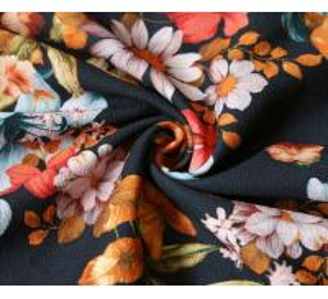 Quality Lean Textile printed floral chiffon fabric/wholesale chiffon fabric/chiffon fabric wholesale