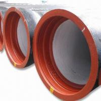 China Ductile Iron Pipe with ISO2531 or EN545 Standards, Available in 0.24 to 0.74 Inches Wall Thickness on sale