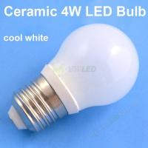 Quality 4W B22 Base Cool White Ceramic+Glass LED Bulb,led bulb light b22 wholesale