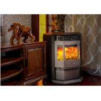 Quality High Efficiency Wood Burning Boiler Stove Remote Control Red / Grey / Black Color wholesale