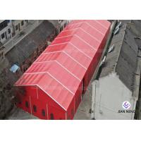 Buy cheap 20x30m Red Color Wedding Party Tent For 500 People With Curtain And Linings from wholesalers