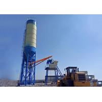 China 25m3 / H Small Skip Hzs25 Concrete Batch Plant Hoist Ready Mix High Weighing Precision on sale