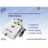 Quality 40KHZ sonic liposuction Cavitation Fat Burning Machine for Fat Removal wholesale