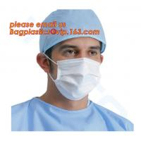 China disposable non woven 3 ply medical face mask,Nonwoven 3Ply Face Mask Medical Disposable Face Mask Tie On bagease package on sale