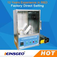 Quality 400mm * 300mm * 500mm Plastic Flammability Test Chamber / Apparatus , 45°Combustion Flammability Test Equipment wholesale