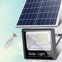 China IP65 Waterproof 200W Solar LED Flood Lights / Led Floodlight With Remote Control on sale