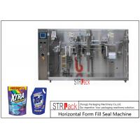 China Laundry Detergent Liquid Pouch Packing MachineWith Servo Piston Filling Machine on sale