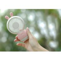 Quality Handy desk led light fan / portable rechargeable mini cooler fan japan wholesale