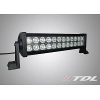 Quality Waterproof 72W 13.5 inch offroad driving LED light bar flood beam LED Working Light wholesale