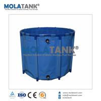 China Molatank Collapsible Fish Breeding Holding Tanks with Large/Small Size providing Customized Service on sale