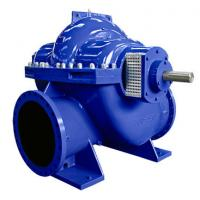 Quality Big Flow Double Suction Volute Pump , Horizontal Split Case Pump Electric / Diesel Motor wholesale