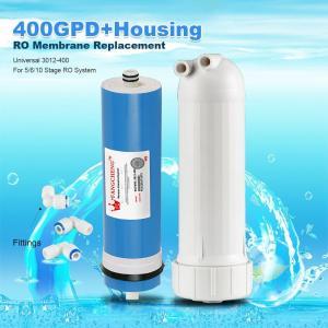 Quality 400GPD Umkehrosmose Wasser Filter Ersatz + Gehäuse RO Membran Universal HOT wholesale
