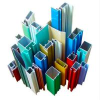 China 6063 Curtain Wall Aluminium Profiles , Aluminium Extrusion Profile Multi Colored on sale