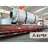 China ISO Certificated Industrial Rotary Dryer / Ore Sand Rotary Drum Dryer Machine on sale