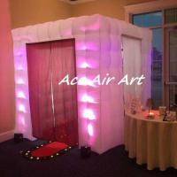 Quality wholesale cube led inflatable photo booth frames for wedding party event decoration wholesale