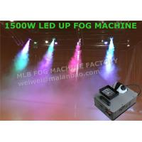 Quality High Velocity Vertical RGB DMX512 LED Up Shot Fog Machine For Colored Smoke wholesale