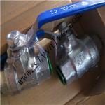 Quality 2pc 316L ball valve wholesale