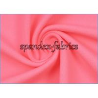 Quality Weft Knitting Plain Dyed Moisture Wicking Supplex Lycra Fabric for Yoga Clothes wholesale