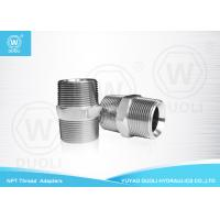Quality Straight NPT Male Thread Hydraulic Pipe Fittings And Adapters National Standard wholesale