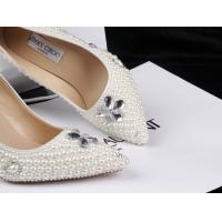 Quality Pearl jimmy design diamond lady's wedding shoes pointed stiletto shoes princess high heels wholesale