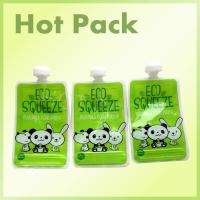 Buy cheap Customized Plastic Laminated Baby Food Packaging Stand Up Spout Pouch product