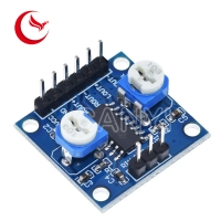 China 5Wx2 Stereo 2.5V PAM8406 Amplifier Board With Volume Potentiometer on sale