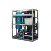 Quality Cyclinder Tube Ice Machine1- 20 tons Water Cooliong System R404A/R22 Refrigerant wholesale