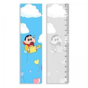 Quality 0.9mm PET + 157g Paper 3D Lenticular Ruler Customized Shape Anime Pattern wholesale