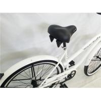 """Cheap Made in China white color OEM steel frame 26"""" 2.125 beach cruiser for lady for for sale"""