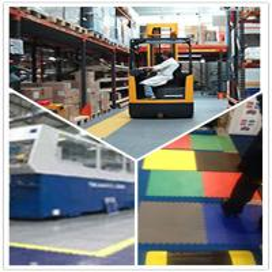 Quality PVC Interlocking Flooring plastic Floor tile heavy duty warehouse tile wholesale