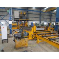 China Fully Automatic H-Beam Production Line / Horizontal H-beam Welding Line on sale