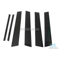 Quality Glossy Finish Miscellaneous Auto Parts Black / Red Carbon Fiber B C Column for BMW F30 wholesale