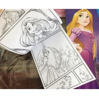 Quality Cartoon Coloring Book Printing , Softcover Paperback Book Printing Spot UV wholesale