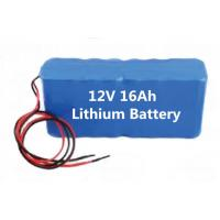 Quality Mine lighting 12v16ah lithium battery pack, boutique mining machinery lithium-ion battery wholesale