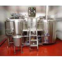 Quality SUS304L Beer Brewing Equipment/Beer Making System wholesale