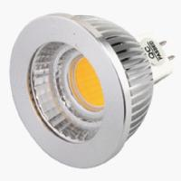 China Bright 350 Lm 5w / 6w Cob Dimmable Led Spotlight GU10 Indoor , AC 110v / 220v on sale