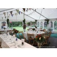 Quality Wind Resistant Outdoor Luxury Wedding Tents Marquee Aluminum Profile wholesale