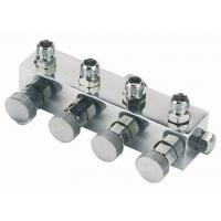 Quality High Durability Airbrush Spare Parts , 4 Way Airbrush Manifold Replacement A9-4 wholesale