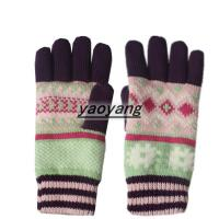Quality New styles and high quality ladies knitted gloves KL050 wholesale