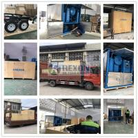 Quality Fully Enclosed Type 9000LPH Insulating Oil Filtration System for Onsite Transformer Oil Maintenance wholesale